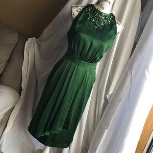Silk dress Large XLarge